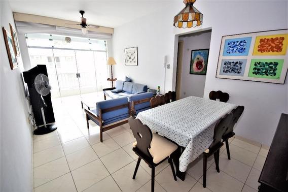 Apartamento Em Praia Das Pitangueiras, Guarujá/sp De 90m² 3 Quartos À Venda Por R$ 375.000,00 - Ap413223
