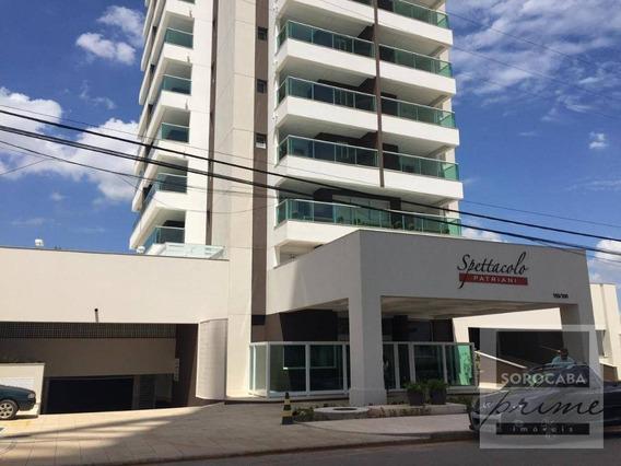 Apartamento Com 1 Dormitório À Venda, 52 M² Por R$ 360.000 - Spettacolo Patriani - Sorocaba/sp - Ap0183