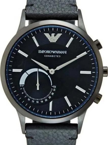 Relógio Emporio Armani Connected Art3004 Smartwatch Black