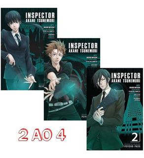 Psycho Pass 2 Ao 4 Inspector Akane Tsunemori! Mangá Panini!