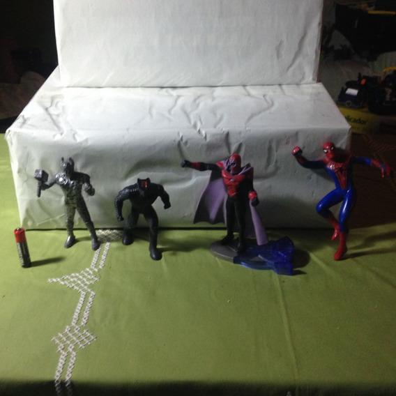 Marvel Thor,xmen Evolution,spiderman Burger King Lote Figura