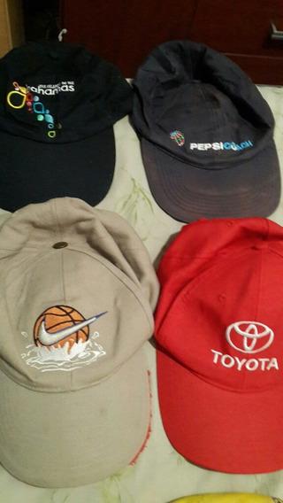 Gorras Con Visera Nike Basquet Toyota Bahamas Y Otra