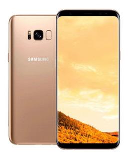 Celular Samsung Galaxy S8 Dorado 4 Gb / 64 Gb + Funda Nuevo