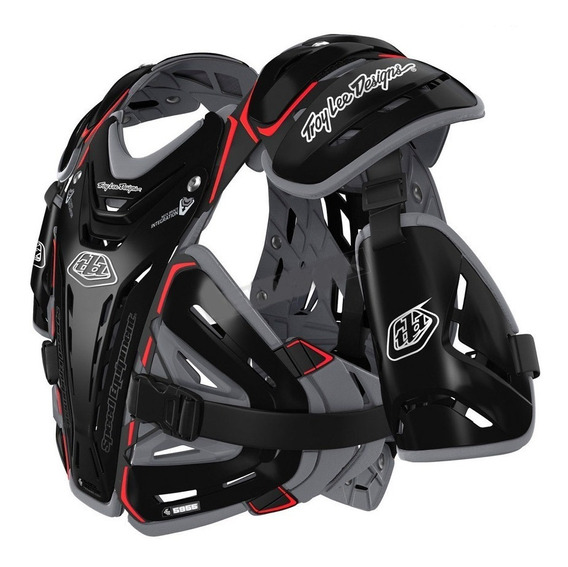 Pechera Motocross Tld Troy Lee Designs 5955 Black Powertech - Powertech Motos