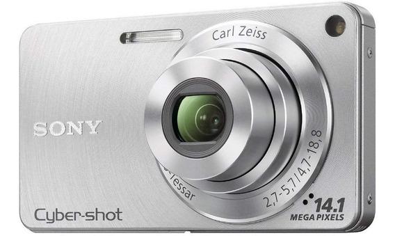 Camera Sony Cyber Shot Dsc-w350 14.1mp Bolsa Transp Ac Troca