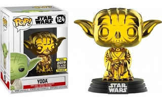 Funko Pop! Star Wars - Yoda 124 Galactic Convention Original