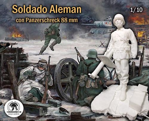 Soldado Alemán Mejor Que Miniart, Figura Para Pintar