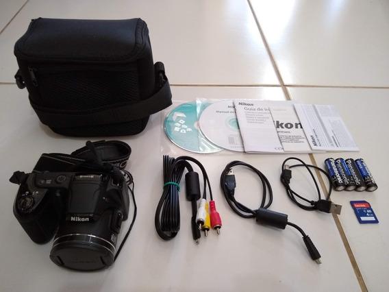 Câmera Máquina Compacta Fotográfica Nikon Coolpix L810