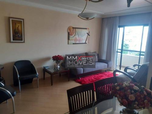 Apartamento Com 3 Dormitórios À Venda, 90 M² Por R$ 660.000,00 - Santana (zona Norte) - São Paulo/sp - Ap1080