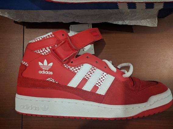 Zapatillas adidas Forum Mid Rs Red Originales