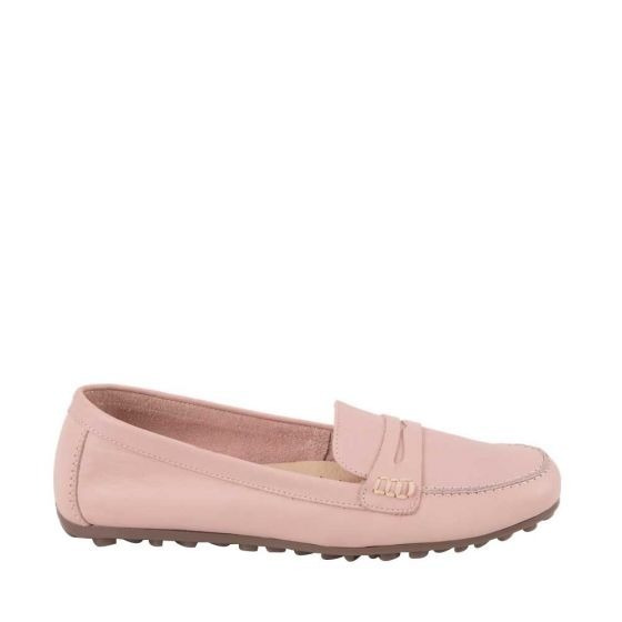 Zapato Confort Hispana 7551 Cof 824873 Plantillas Piel Rosa