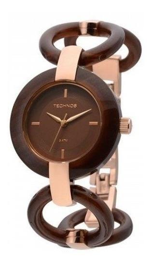 Relógio Technos Feminino Elos 2035lqe/4m *super Promoção!!!