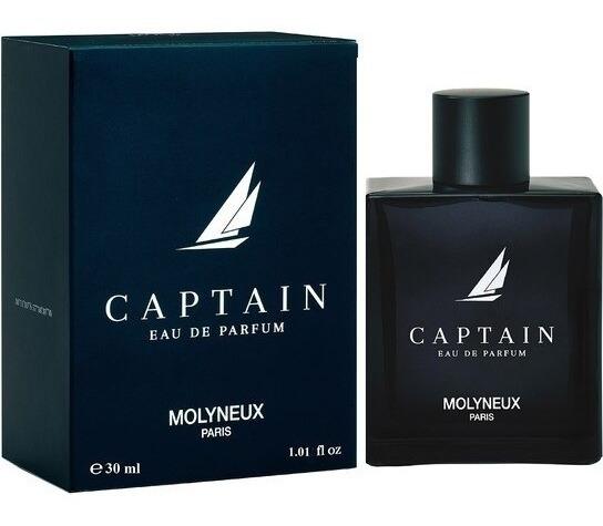 Molyneux Captain Edp 30ml Masculino + Amostra De Brinde