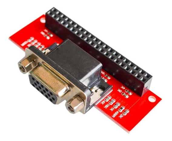 Placa Vga 666 Dpi Modulo Raspberry Pi 3b, 2b, B+, A+