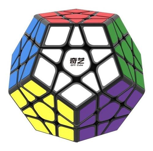 Cubo Rubik Qiyi Qiheng Megaminx Magic Cube Cuerpo Negro