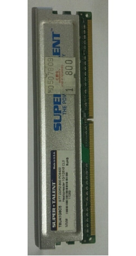 Memoria Ddr2 1gb - Super Talent - Original C/disipador