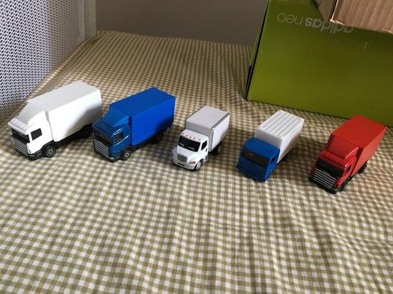 5 Caminhões Estilo Baú Caminhão Mudança Carreto Conservados