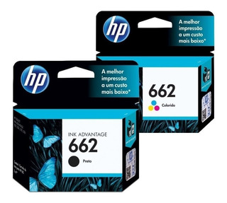 Cartucho Hp 662 Negro O Color Original 2515 3515 2545 4645