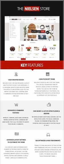 Loja Virtual Tema Wordpress- Nielsen