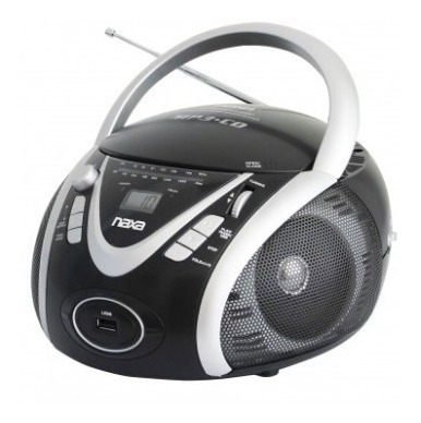 Reproductor Portatil Naxa Cd Usb Aux Radio Am/fm