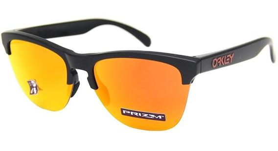 Óculos De Sol Unissex Oakley Frogskins 9374 - Original