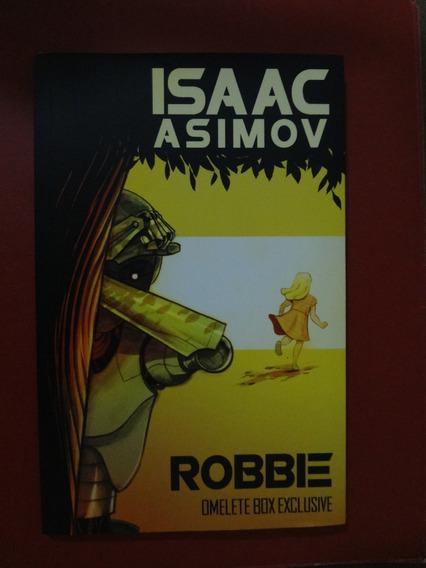 Livro Robbie Omelete Box Exclusivo De Isaac Asimov