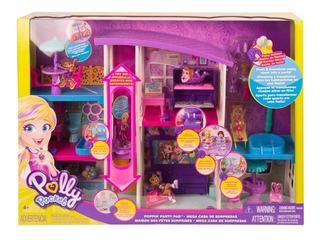 Polly Pocket - Nueva Mega Casa De Sorpresas - Mattel Gfr12