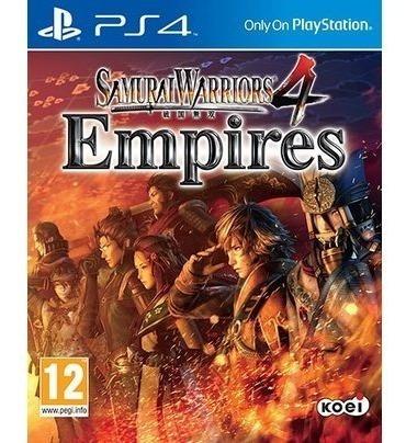 Samurai Warriors 4 Empires Ps4 Mídia Física Pronta Entrega