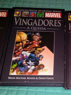 Hq Vingadores A Queda - Marvel - Salvat