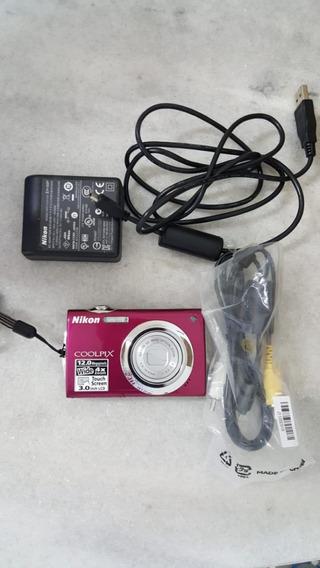 Camera Fotografica Nikon Coolpix S4000.