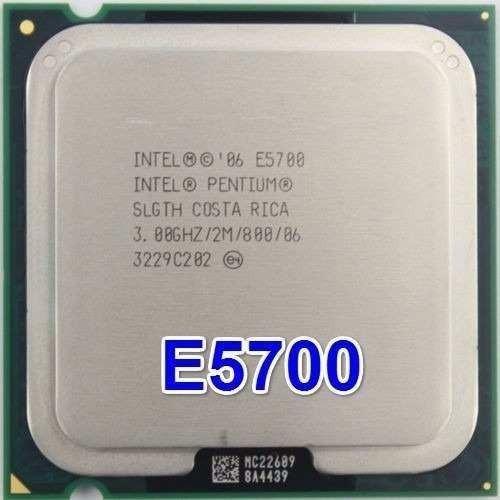 Processador Intel Pentium Dual Core E5700 - 2m 3,0ghz 800mhz