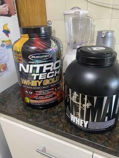 Proteina Nitro Tech Y Animal