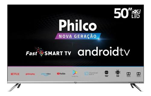 Smart Tv 4k 50  Philco Led Ultra Hd Ptv50g71agbls Android