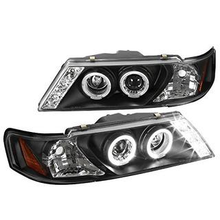 Nissan Sentra 200sx Halo Proyector Head Lights, Negro