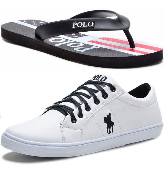 Kit Chinelo Masculino + Sapatênis Polo Plus Original!!!