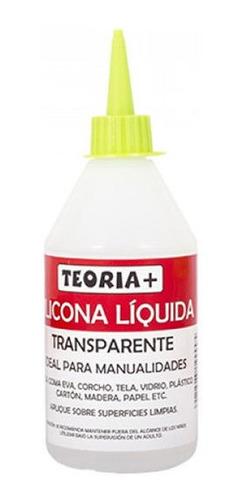 Adhesivo Silicona Líquida 250ml Teorìa+