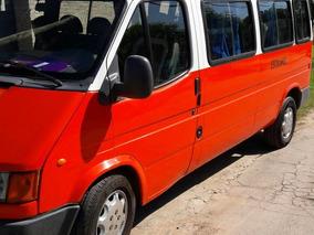Camioneta Escolar Ford Transit Mod 97 Hab Sacta