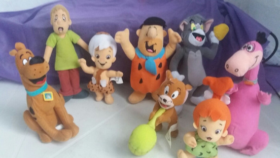 Coleção Completa Mcdonalds Hanna Barbera Pelúcias 2010