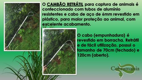 Kit: 01 Pinção Dobrável +01 Gancho Retrátil + 01 Cambão Ret.