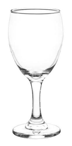 Copas De Vidrio Agua Cristar Aragon 300cc X12