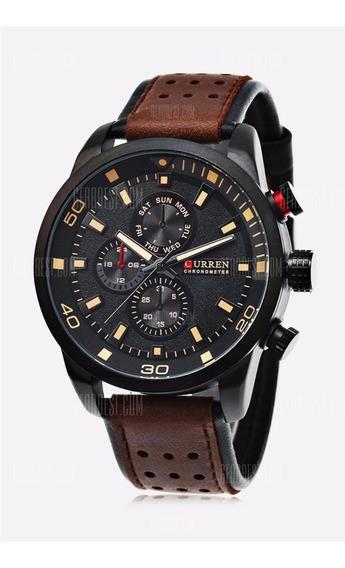 Relógio Masculino Curren 8250 Importado Pronta Entrega
