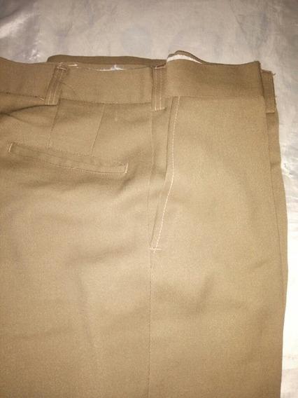 Pantalon De Vestir Crema 48