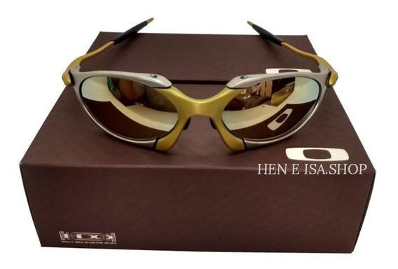 Oculos Oakley Romeo 1 24k Dourada +teste+frete 12x