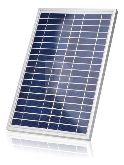 Painel Placa Energia Solar 20w 12v /18v Fotovoltaico Inmetro