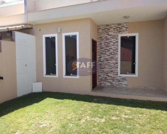 Casas 2 Quartos Para Venda Em Cabo Frio / Rj No Bairro Unamar - Ca1166 - 67806261