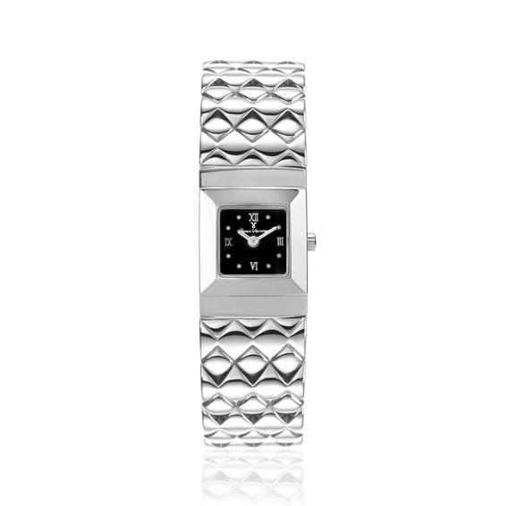 Relógio De Pulso Caixa E Pulseira Aço Jean Vernier Jv05840p
