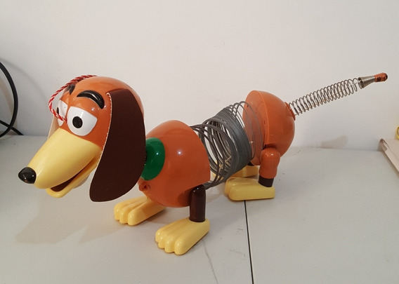 Cachorro De Mola Slinky Dog Pull Cãozinho Toy Story Grande