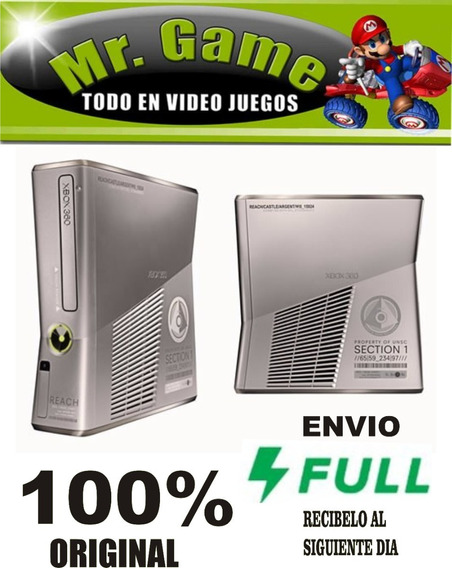 Carcasa Version Halo Reach Usada En Buen Estado -----mr.game
