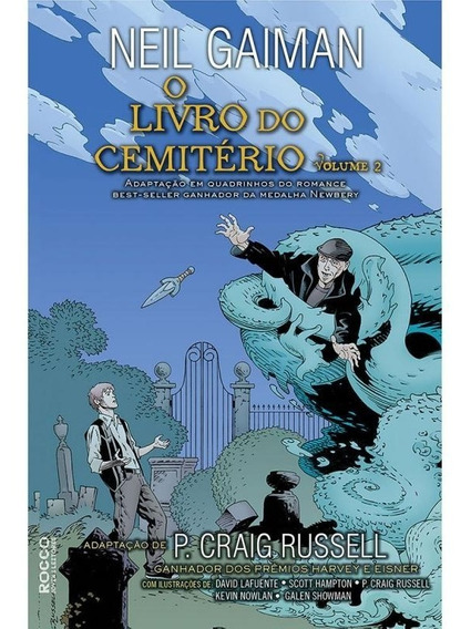 O Livro Do Cemitério Vol.2-história Em Quadrinhos