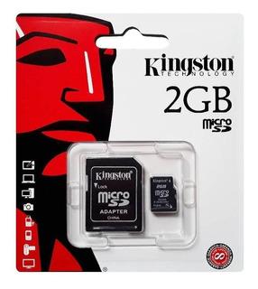 Cartão De Memória Micro Sd Kingston 2gb Tf